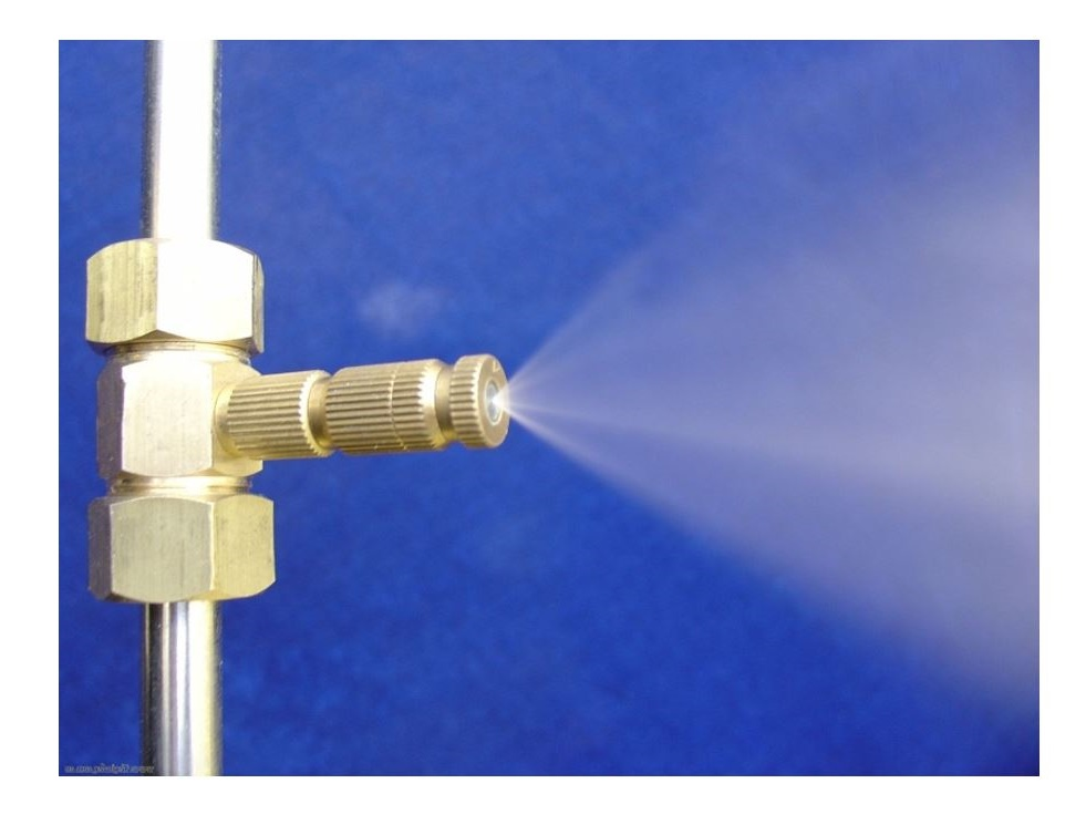 Water Mist Cooling Systems : Misting system — water
